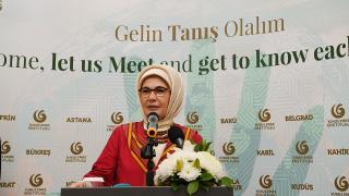 Emine Erdoğan, Abuja Yunus Emre Kültür Merkezi'nin açılışında konuştu