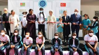 Emine Erdoğan Togo'da Türkiye Maarif Vakfı Eğitim Kampüsü'nün açılışını yaptı