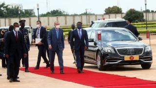 Cumhurbaşkanı Erdoğan Togo'dan ayrıldı