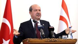 KKTC Cumhurbaşkanı Tatar: Kıbrıs'ta federasyon meselesi kapanmıştır