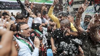 Filistinli kadın tutuklu, aylar sonra ailesine kavuştu