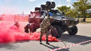 Gambiyalı askerlere mayın ve EYP ile mücadele eğitimi verildi