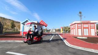 Gaziantep'te çocuklara trafik parkları yapılıyor