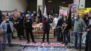 Yunanistan'da hastane çalışanları greve gitti