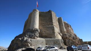 Harput Kalesi'nde tarihi mekanlar ziyarete açıldı