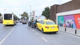 İstanbul'da müşteri seçen taksiciye ceza