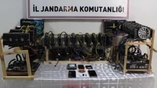 Kayseri'de jandarmanın kripto para operasyonunda 1 kişi yakalandı