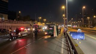 İstanbul'da taksinin çarptığı yaya hayatını kaybetti