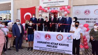 Osmaniye'de `Kitap Kahve` hizmete açıldı