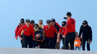 Fethiye'de yamaç paraşütü pilotu düştü: O anlar kamerada