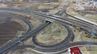 Bağlıca Bulvarı çevre yolu bağlantısı trafiğe açıldı