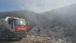 Adıyaman'da çırçır fabrikasında çıkan yangın kontrol altına alındı