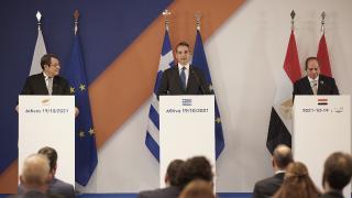 Yunanistan, Mısır ve GKRY'den Atina'da üçlü zirve