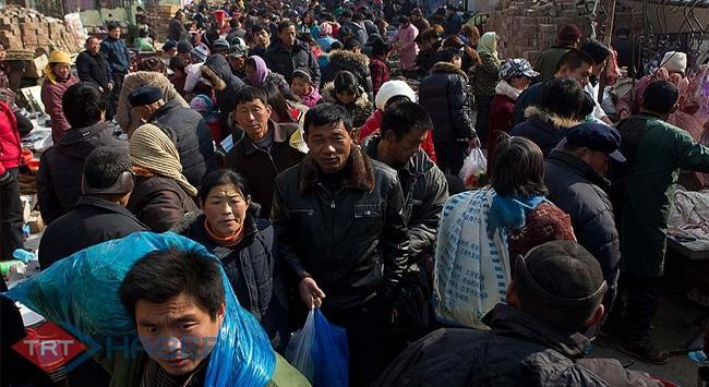İşte Çinin nüfusu