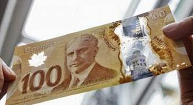 Kanada Parasına Norveç Damgası