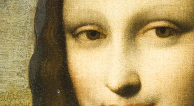 Mona Lisayı Aya yolladılar