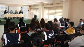 """Çankırı'da öğrencilere """"AFAD gönüllülüğü"""" anlatıldı"""