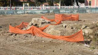 Selimiye Camii'nin çevresinde Roma dönemine ait mezarlık bulundu