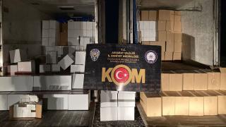 Aksaray'da 4 milyon 330 bin kaçak makaron ele geçirildi