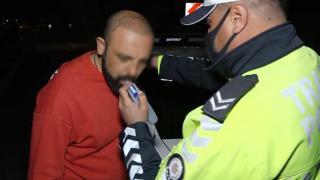 Kaza yapan alkollü sürücü: Çok mu içmişim