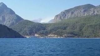 Antalya'da orman yangını kontrol altında