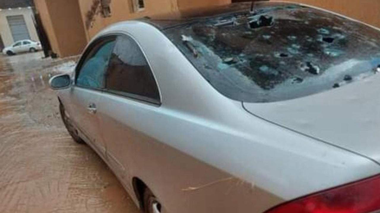 Libya'yı dolu vurdu: Ev ve araçlarda ciddi hasar oluştu
