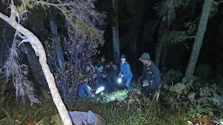 Uçuruma yuvarlanan kişi kurtarıldı
