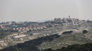 İsrail'den Batı Şeria'da 1355 konut için ihale planı
