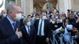 Cumhurbaşkanı Erdoğan, cuma namazını Taksim Camii'nde kıldı