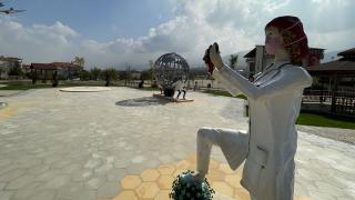Denizli'de belediyeye 'heykel' tepkisi
