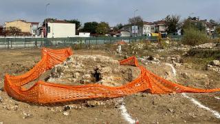Edirne'de Roma döneminden kalma aile mezarlığı bulundu