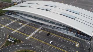 TRT Haber Füzuli Uluslararası Havalimanı'nda