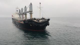 Marmara Denizi açıklarında yabancı bayraklı iki gemi çarpıştı