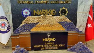 İstanbul'da 285 kilogram eroin ele geçirildi