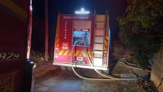 Denizli'de ev yangını: 1 kişi zehirlenerek hayatını kaybetti