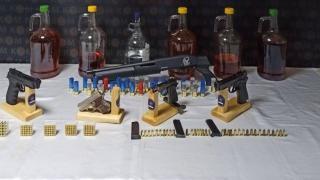 Kastamonu'da kaçakçılık ve sahte içki operasyonu: 4 gözaltı