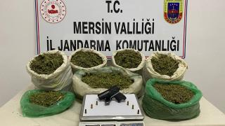 Mersin'de 33 kilo 900 gram esrar ele geçirildi