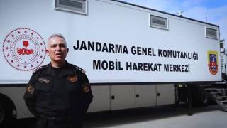 """İçişleri Bakanlığından """"Jandarma Mobil Harekat Merkezi"""" paylaşımı"""