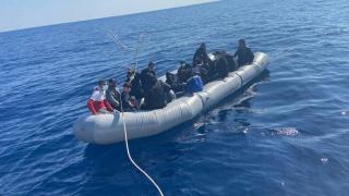 Muğla'da 31 düzensiz göçmen kurtarıldı