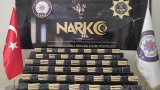 Van'da bir haftada 141 kilo 529 gram uyuşturucu ele geçirildi
