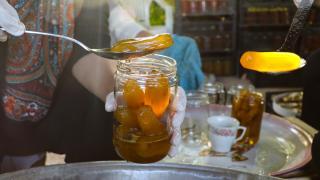 Iğdır'da kadınlar 'patlıcan reçeli' yapmaya başladı