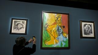 Picasso müzayedesi: Eserler yaklaşık 110 milyon dolara satıldı