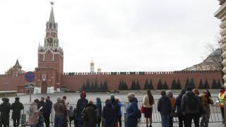 Rusya'da şiddetli rüzgar: Kızıl Meydan ziyarete kapatıldı