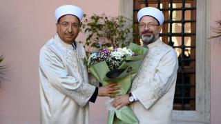 İstanbul Müftülüğü'ne atanan Prof. Dr. Safi Arpaguş göreve başladı