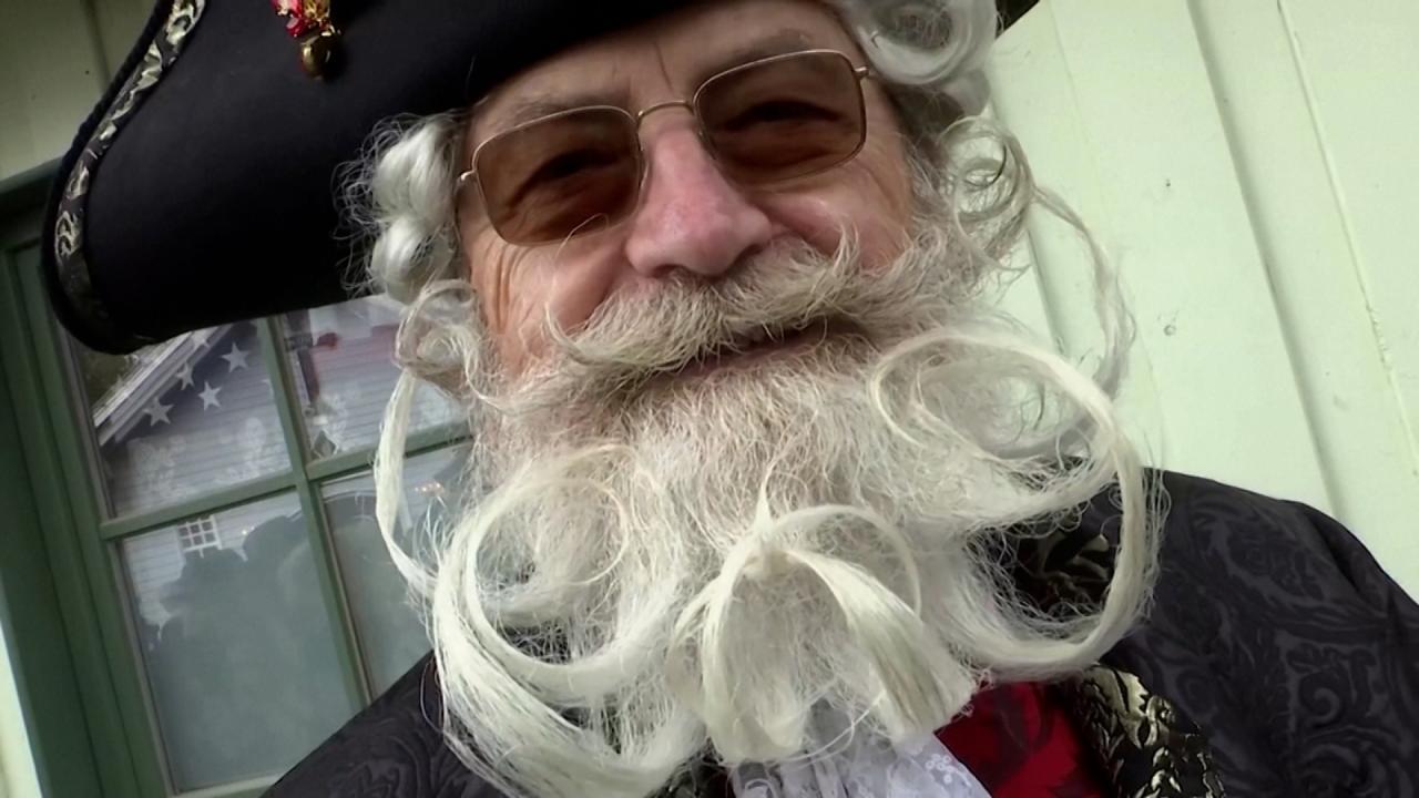 Almanya'da sakal ve bıyıklar yarıştı
