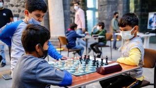 """Diyarbakır'da """"Geleneksel Satranç Turnuvası"""""""