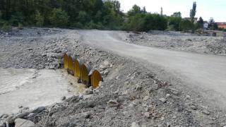 Sinop Türkeli'de sağanak: Geçici köprü ulaşıma kapatıldı