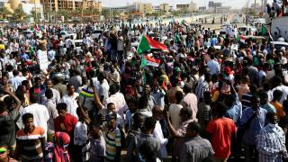 Sudan'da hükümet karşıtı göstericilere müdahale