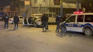 """Kayseri'de """"dur"""" ihtarına uymayan araçtan el bombası çıktı"""