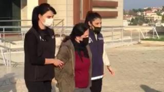 Terör örgütü üyeliği suçundan hapis cezası bulunan kadın yakalandı